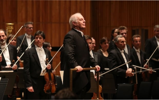 Daniel Barenboim and his Staatskapelle Berlin. Photo credit: The Telegraph