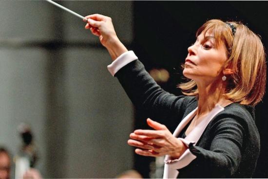 Joann Falletta, conductor.