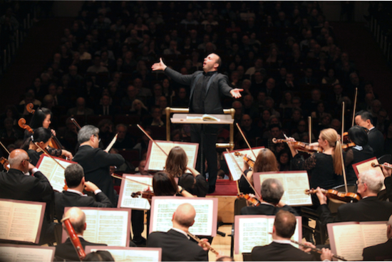 Philadelphia Orchestra plays Carnegie Hall