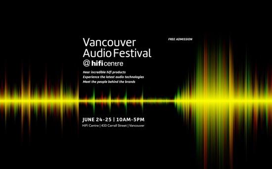 Vancouver Audio Festival @hificentre 2017