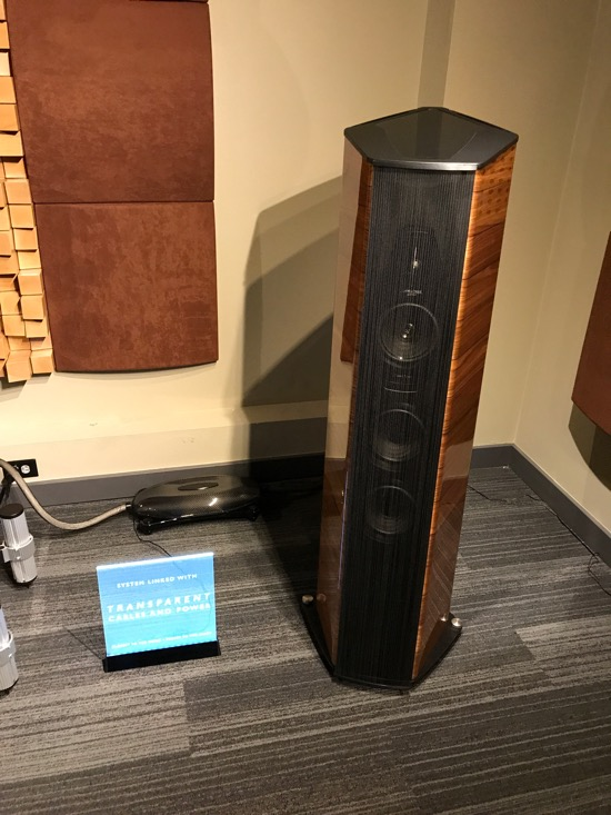 Sonus Faber Cremonese II Loudspeakers (USD$45,000/pair).