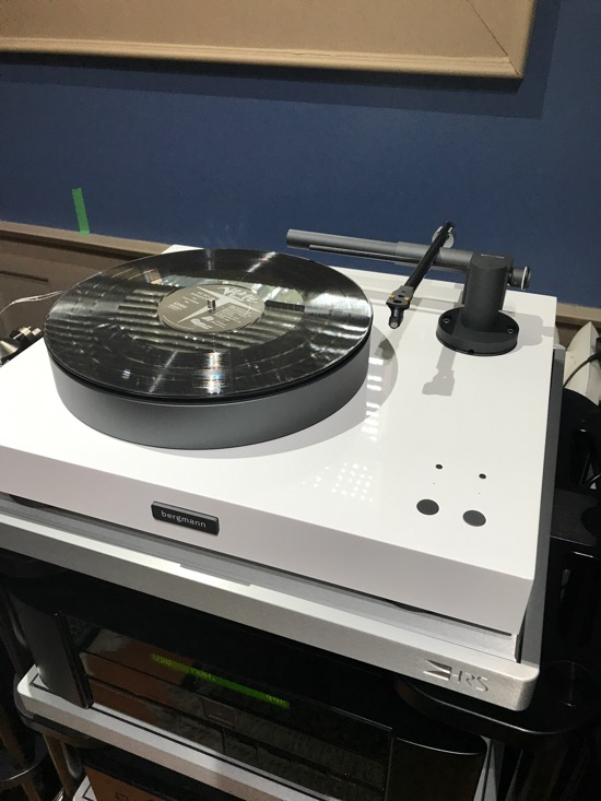 Bergmann Audio Magne Turntable.