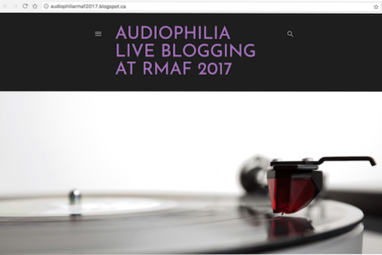 Audiophilia will be LIVE blogging Rocky Mountain Audio Fest 2017 (Oct 5 to 8)