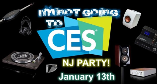 Audiophilia reports on the VPI: I'm NOT Going to CES, NJ Party!
