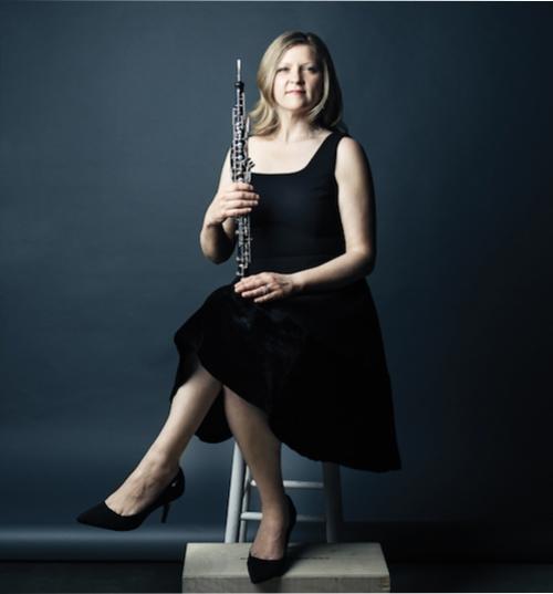 Sarah Jeffrey, oboe.