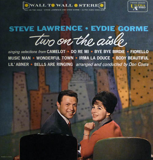I heard this swinging beauty at Harry Weisfeld's house, head of VPI. As soon as I got back to the island, I ordered it. Great sound and repertoire sung with impeccable taste and style by jazz' most successful husband and wife team.