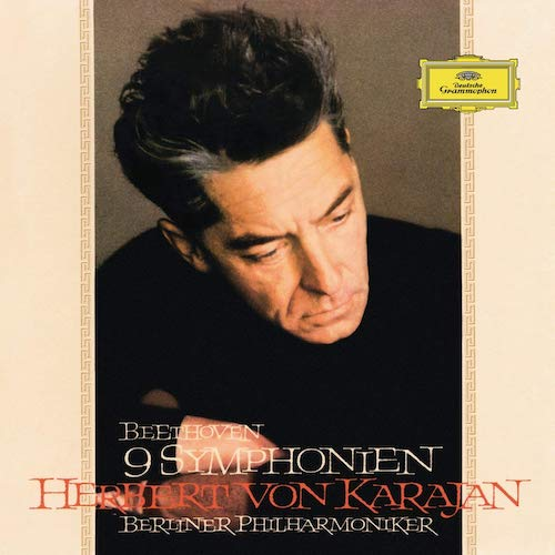 This incredible set from 1963 was full price for many years, sold in the millions and represented Karajan and his orchestra at the pinnacle of their achievements. Except for an undernourished Pastoral, you're pretty much getting definitive performances. Recording is not in the EMI league from the set above, but certainly sounding great on a capable setup.