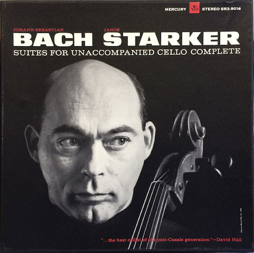 I have this on a superb reissue from the original Mercury. The cello sound is miraculous. Vinyl at its very best. Starker's set may have been equaled but never bettered. The vinyl brings the bow on rosiny strings like no other format. Glorious interpretation from the great Hungarian, Indiana U prof.