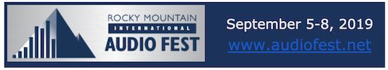 Rocky Mountain Audio Fest hotel update (Sept 5 - 8, 2019) Denver, CO
