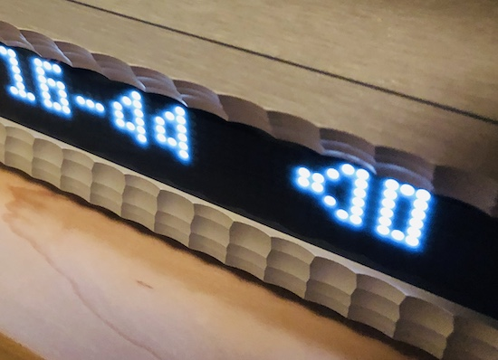 Luxury fit & finish. LED displaying sample rate and analog attenuator value.