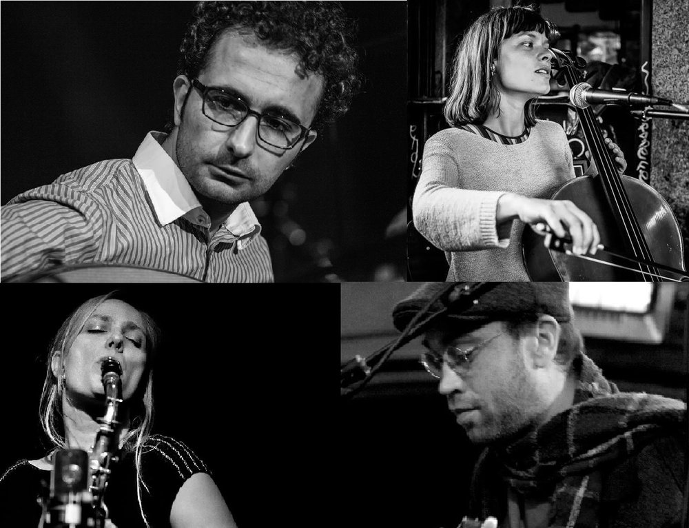 Performing new compositions of 4 composers from The Royal Academy of Music:Maher Mahmoud, Paulo Duarte, Lil Lacy& Julie Kjær. - Free entry