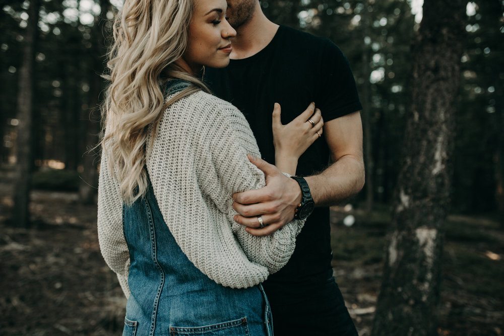 Janelle + Nick | Rocky Mountain Engagement