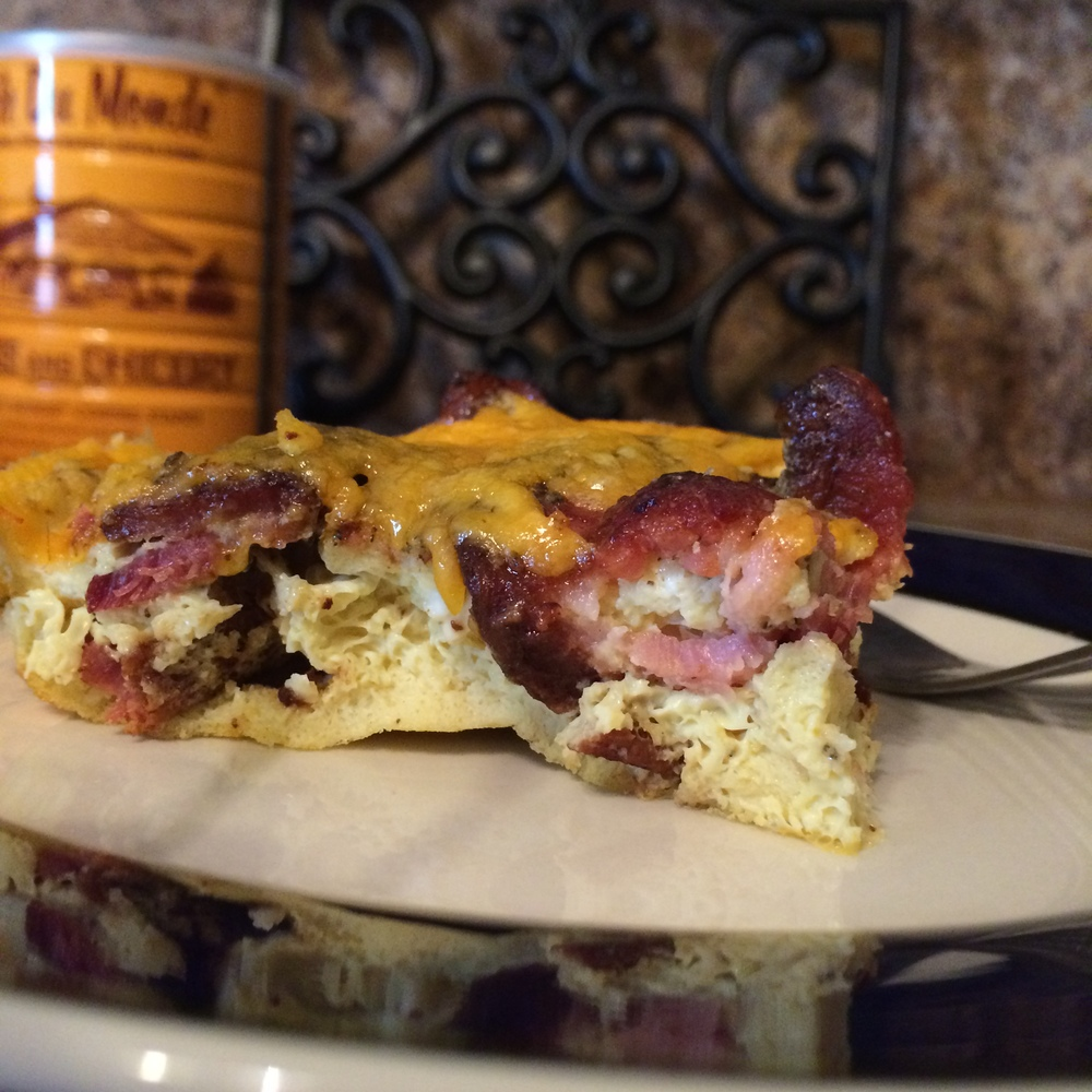 Turkey Bacon Breakfast Casserole