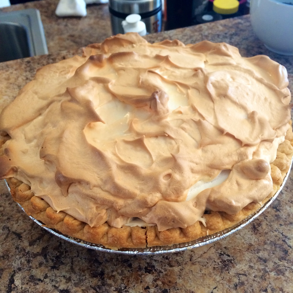 Southern Chocolate Meringue Pie
