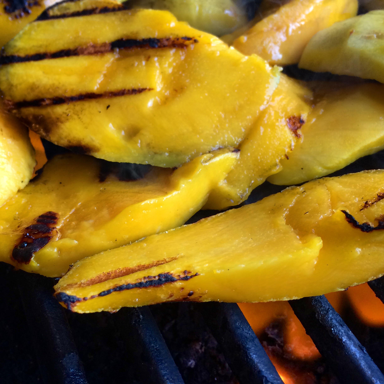 Fire Roasted Mango & Peach Salsa