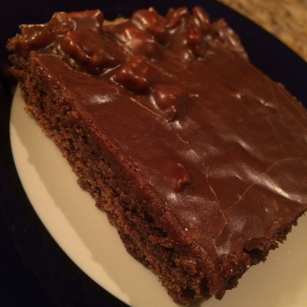 Mum's Chocolate Sheet Cake