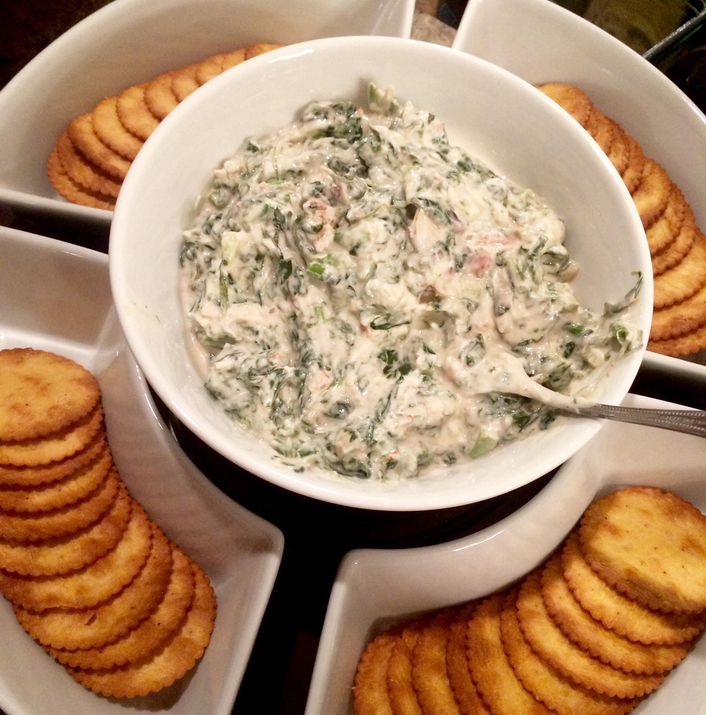 Spinach & Kale Greek Yogurt Dip