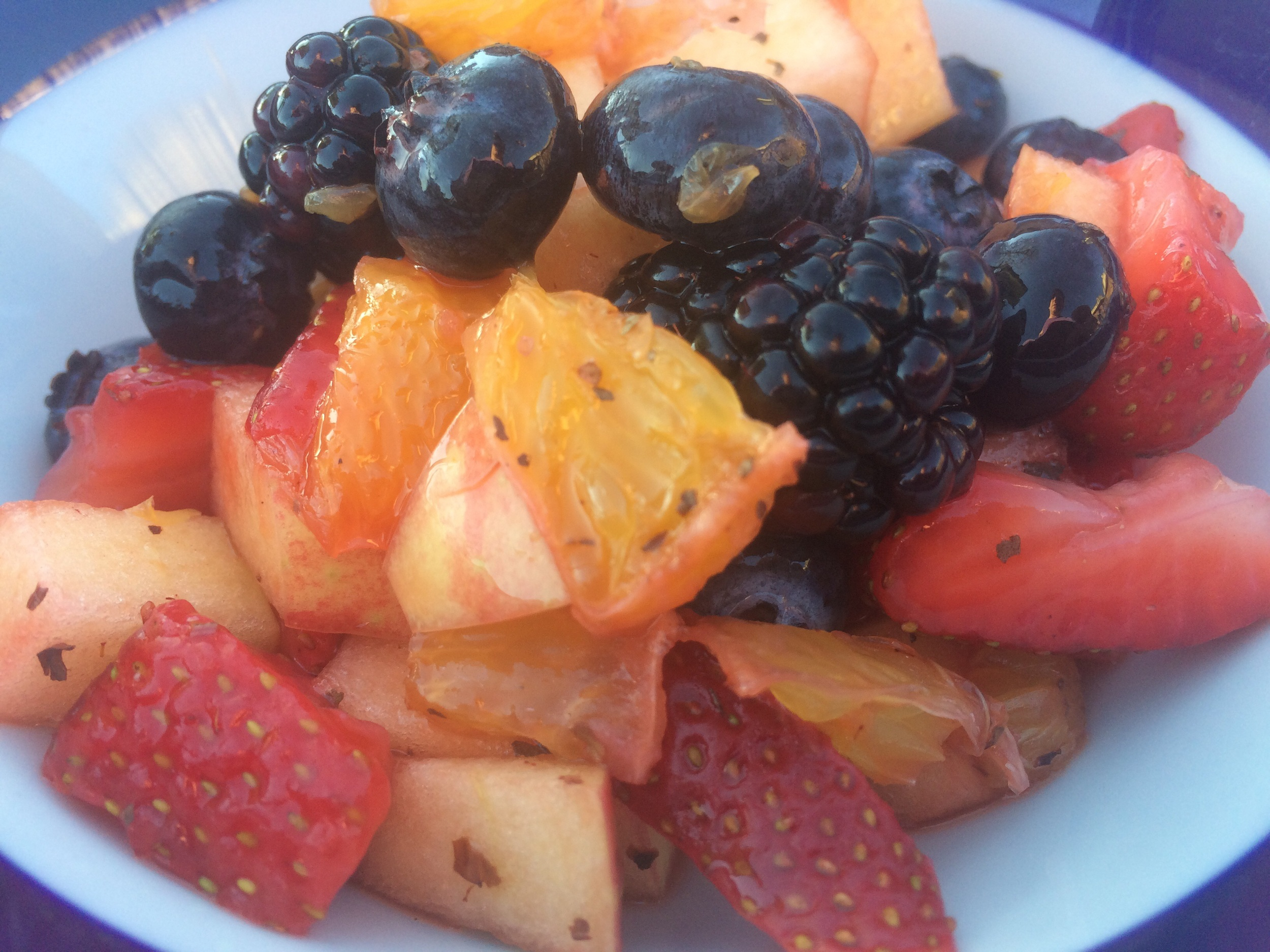 Balsamic Fruit Salad
