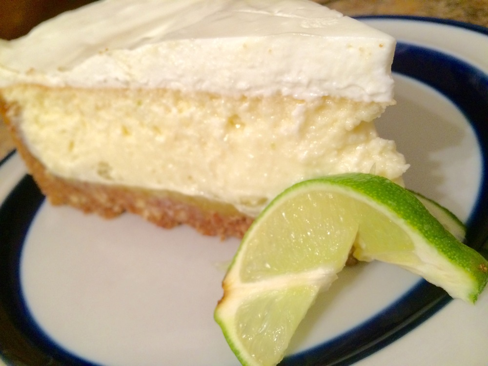 Key Lime Cheesecake with Graham Cracker & Almond Crust