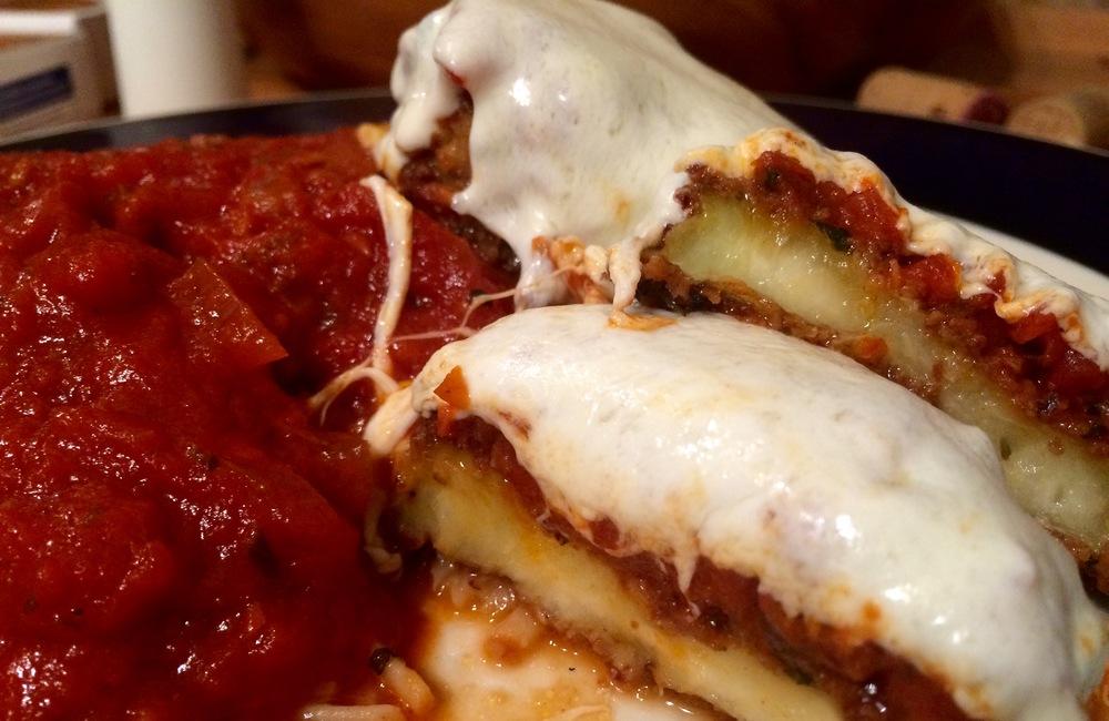 Gluten-Free Eggplant Parmesan