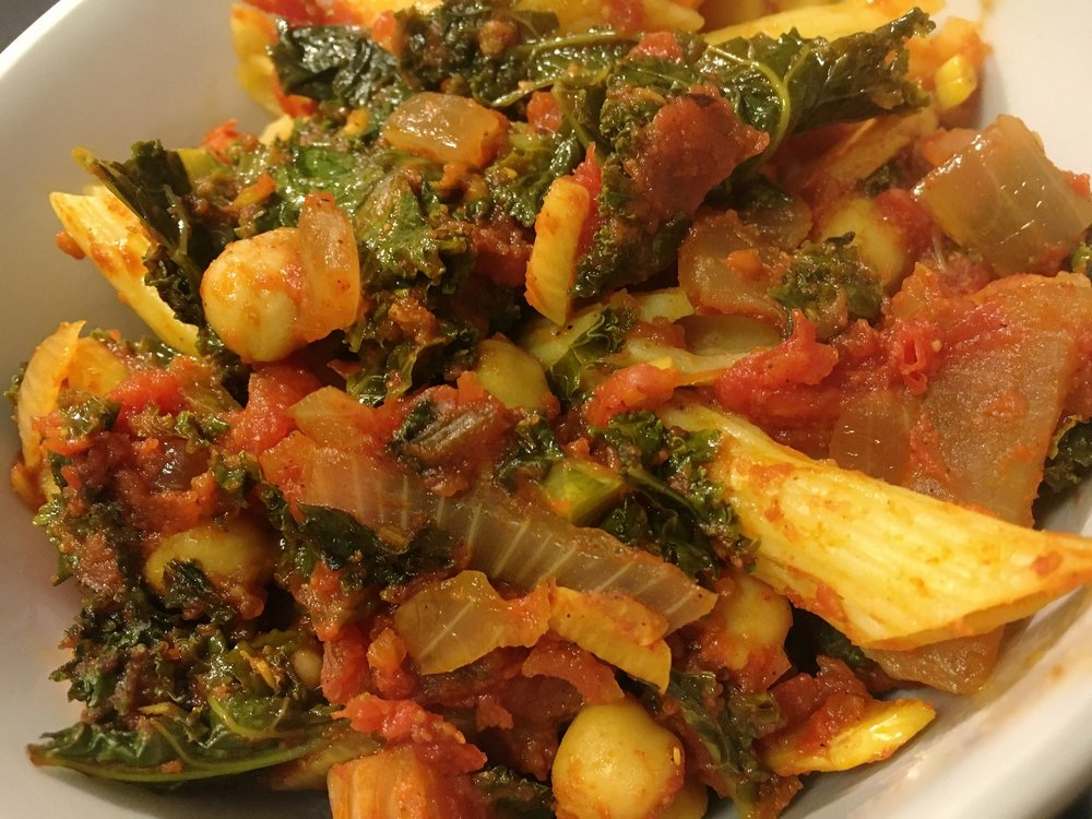 Chickpea & Kale Tagine