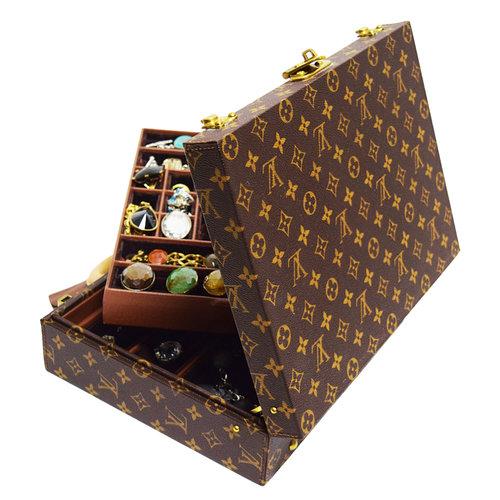 Louis Vuitton Monogram Jewellery Casetops Blouse Pants Shoes Dresses