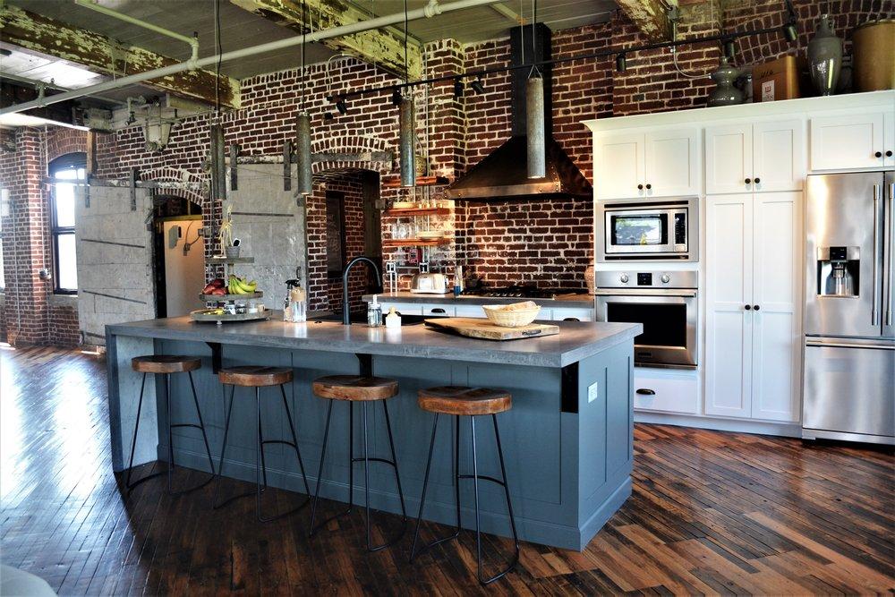 custom kitchen by Ford Custom Renovation