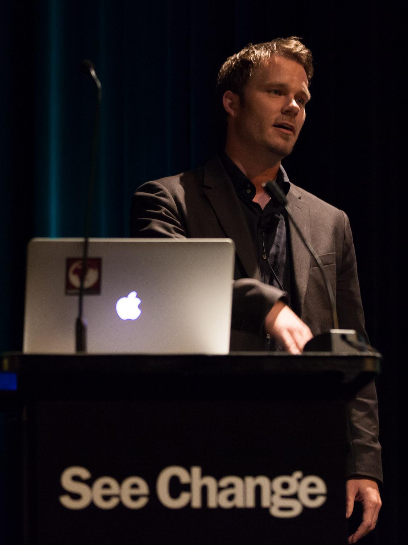 Dr. Charles Miller presenting Flipgrid at See Change 2013