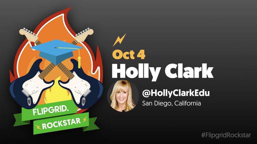 Flipgrid Rockstar Holly Clark