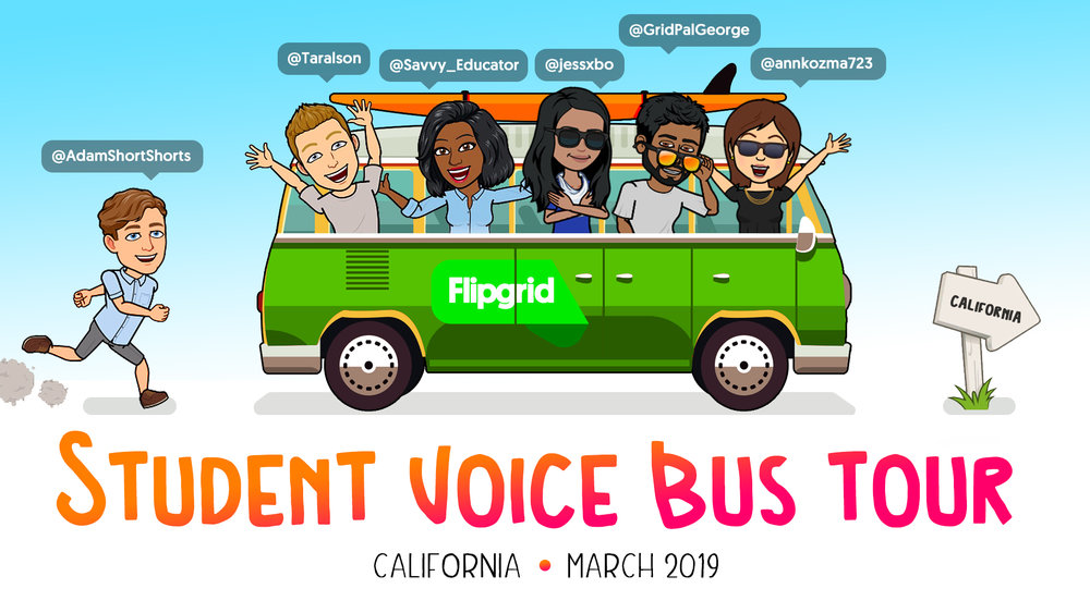 SOLIDGOLDenState FlipgridBusTour