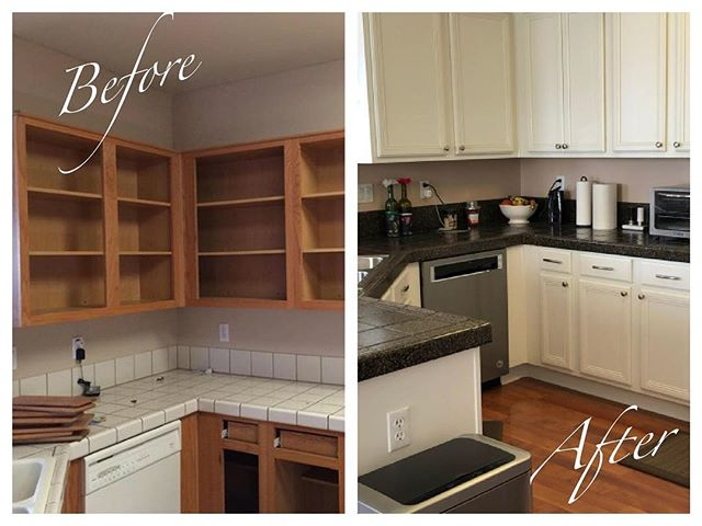 Kitchen facelift project complete.. what do you think?