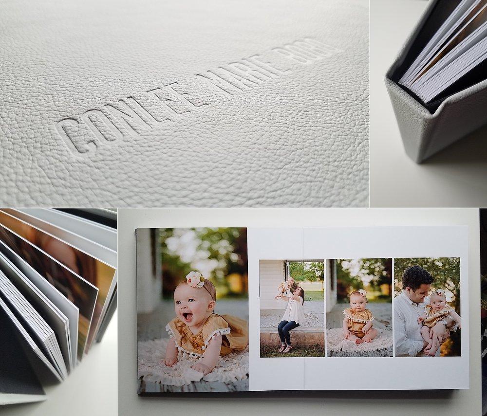 heirloom baby's first year album