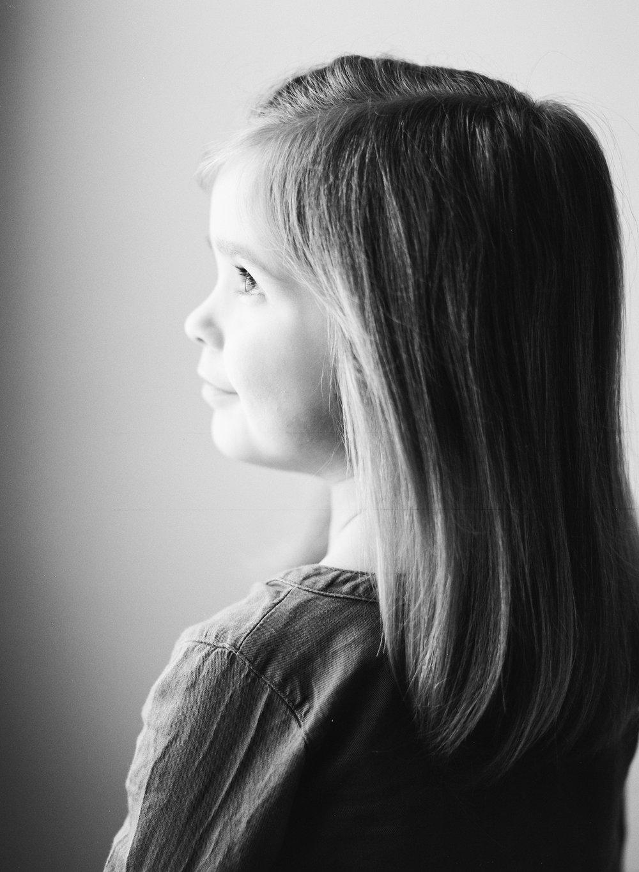 black and white children's portraits nashville
