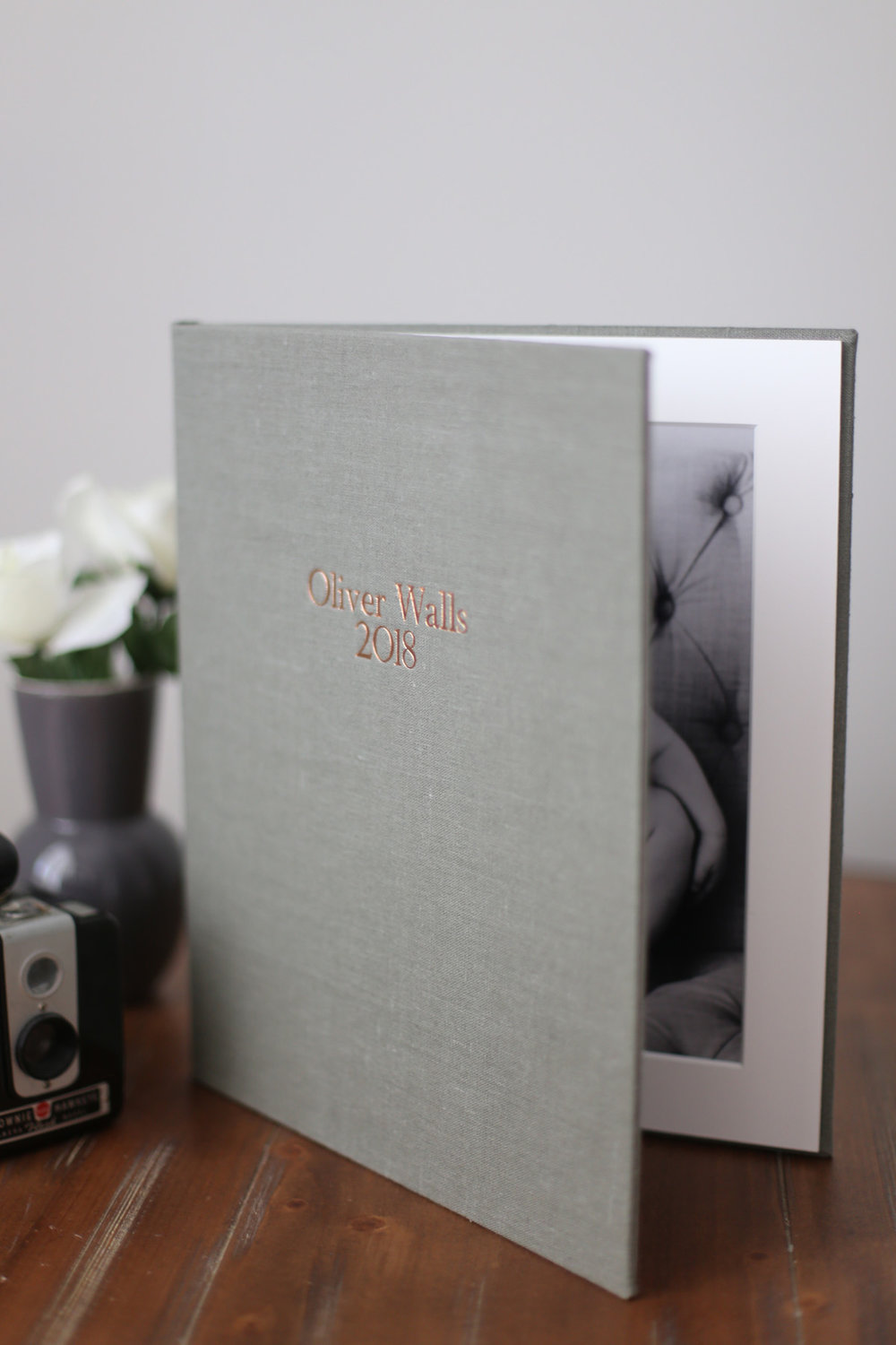 matted folio album