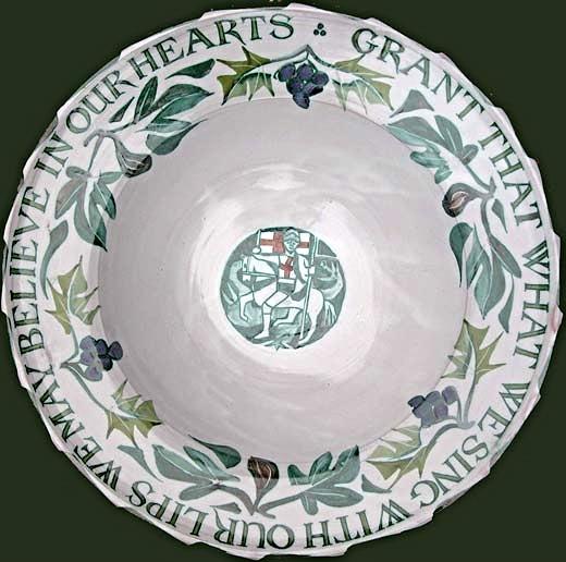 1. Seventeen inch tondino bowl