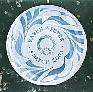 12. Eleven inch plate