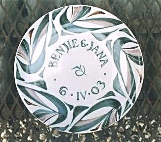 13. Eleven inch plate