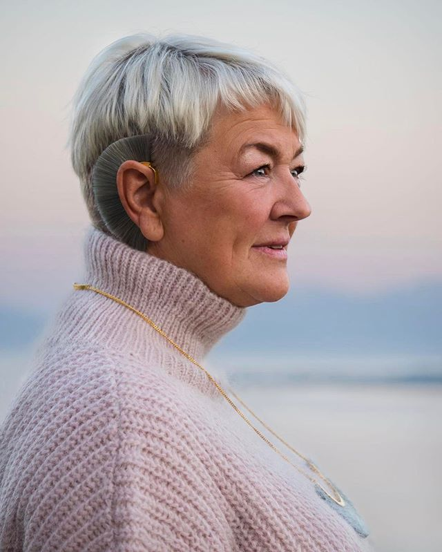 Happy mothers day! Here's a snapshot of our stylish beauty one late summer evening up north. ❤ - #morsdag #mothersday #mom #harstad #bjorgjewellery #jewellery #olympuspen #getolympus #olympus #portrait