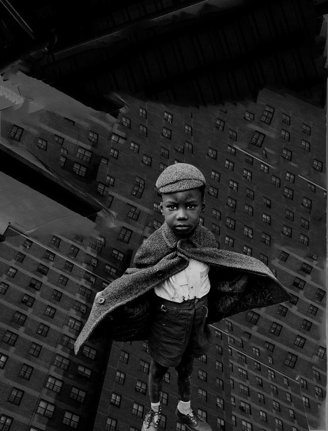 Untitled (Fly Boy, Spy Boy) , 2017