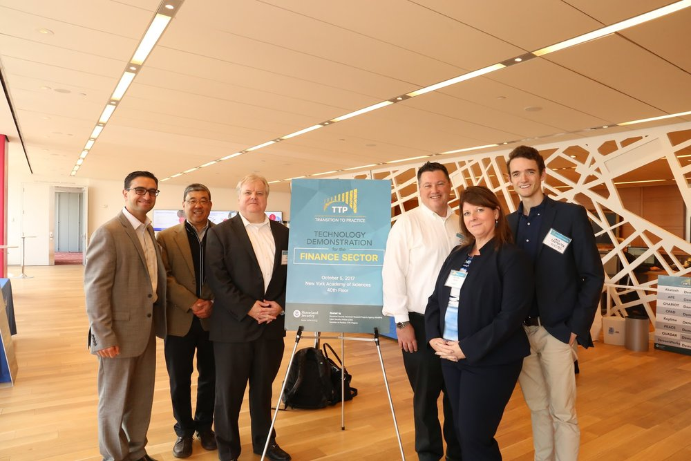 Our team from IgniteU NY and NYSTEC pose for a photo between sessions.