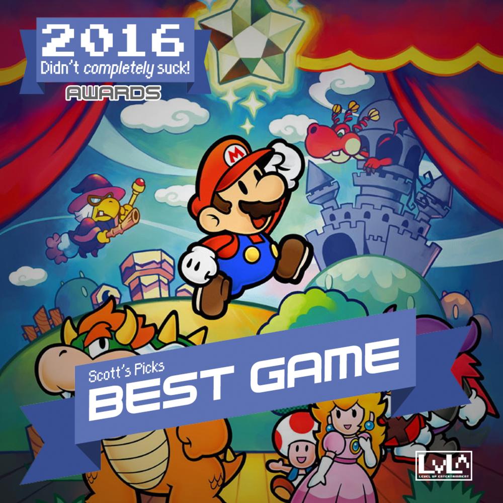 Best Game - Paper Mario & The Thousand Year Door (Gamecube)