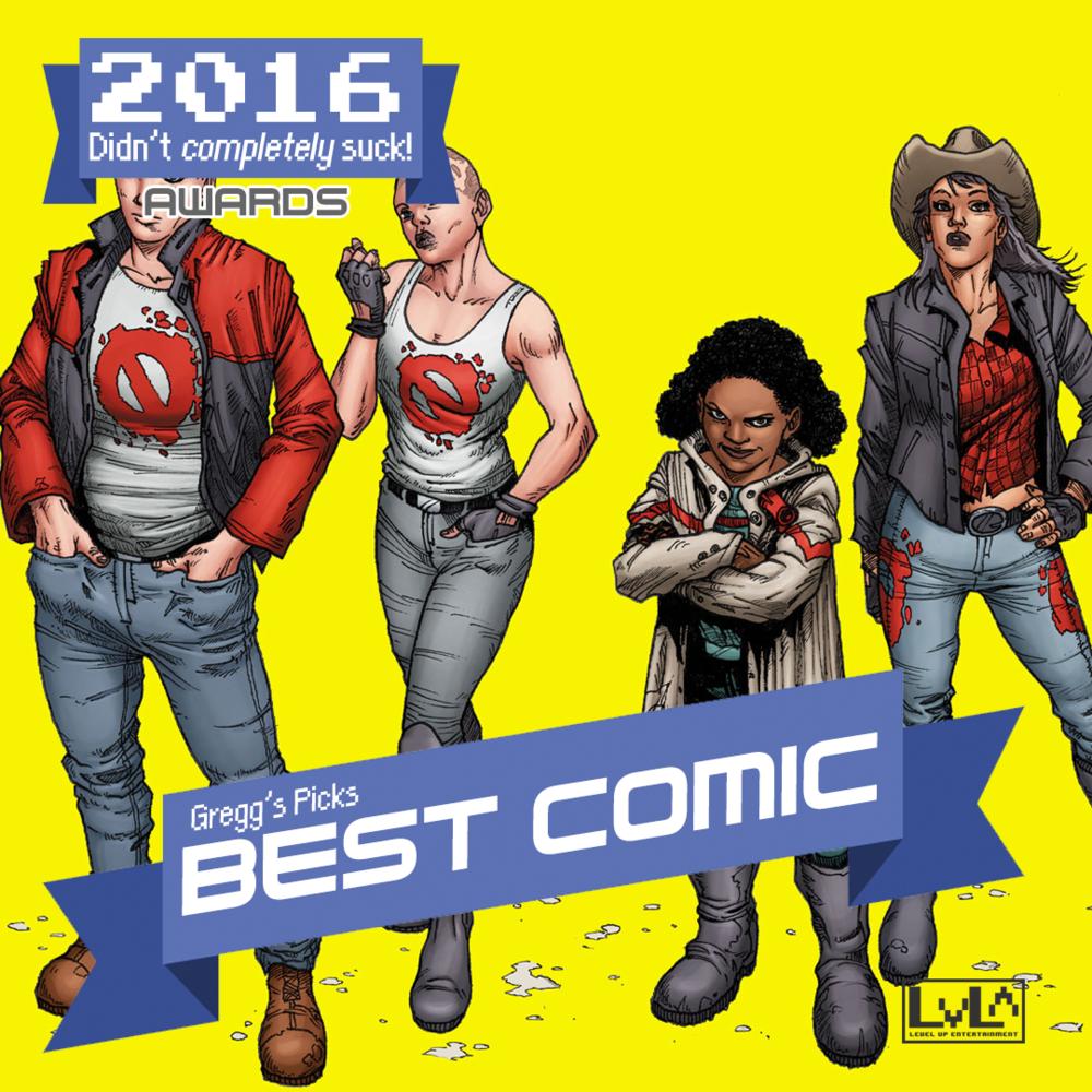 Best Comic - Generation Zero (Valiant)