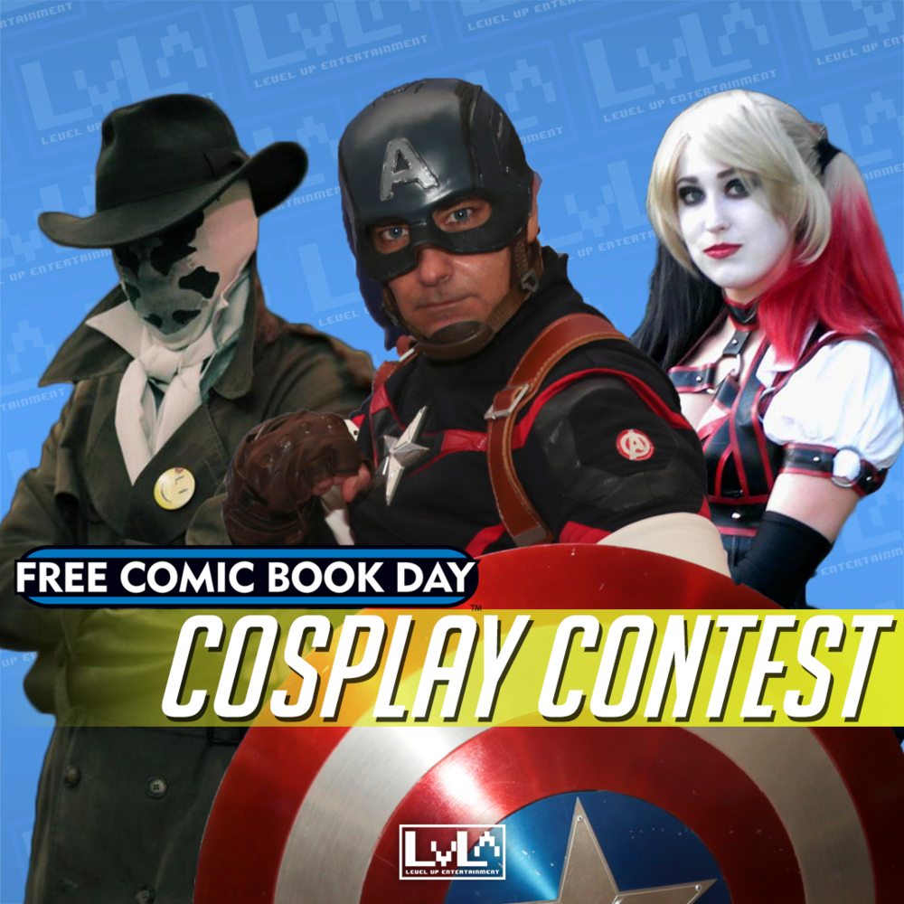 Get ready and gear up, our biggest costume contest returns May 6th!