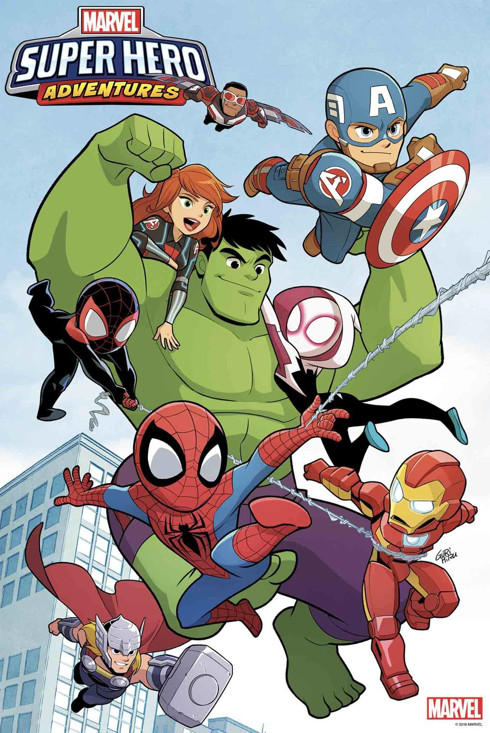 MARVEL SUPER HERO ADVENTURES #1