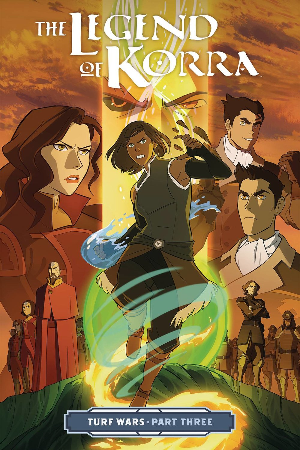 LEGEND OF KORRA TP VOL 03 TURF WARS PT 3