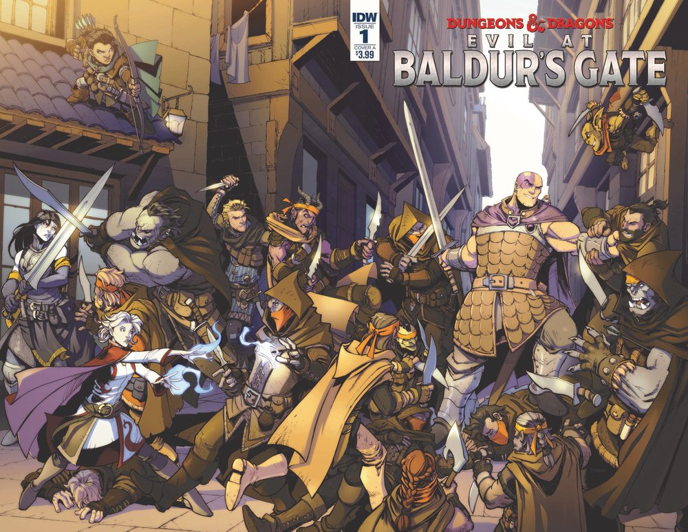 DUNGEONS & DRAGONS EVIL AT BALDURS GATE #1