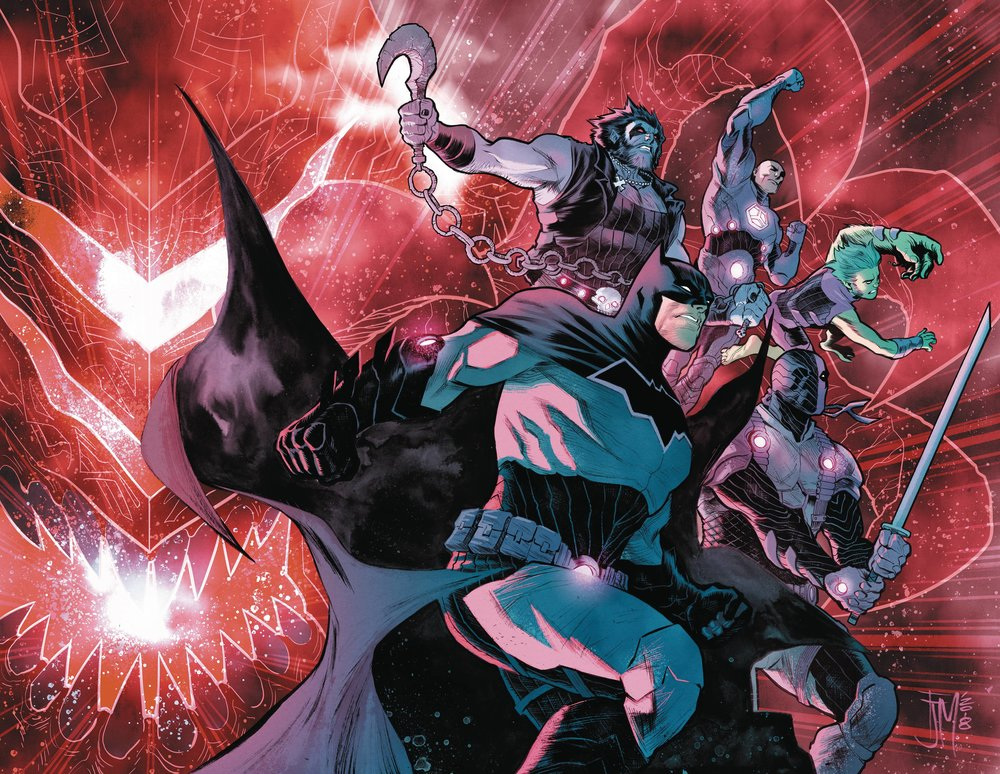 JUSTICE LEAGUE NO JUSTICE #2
