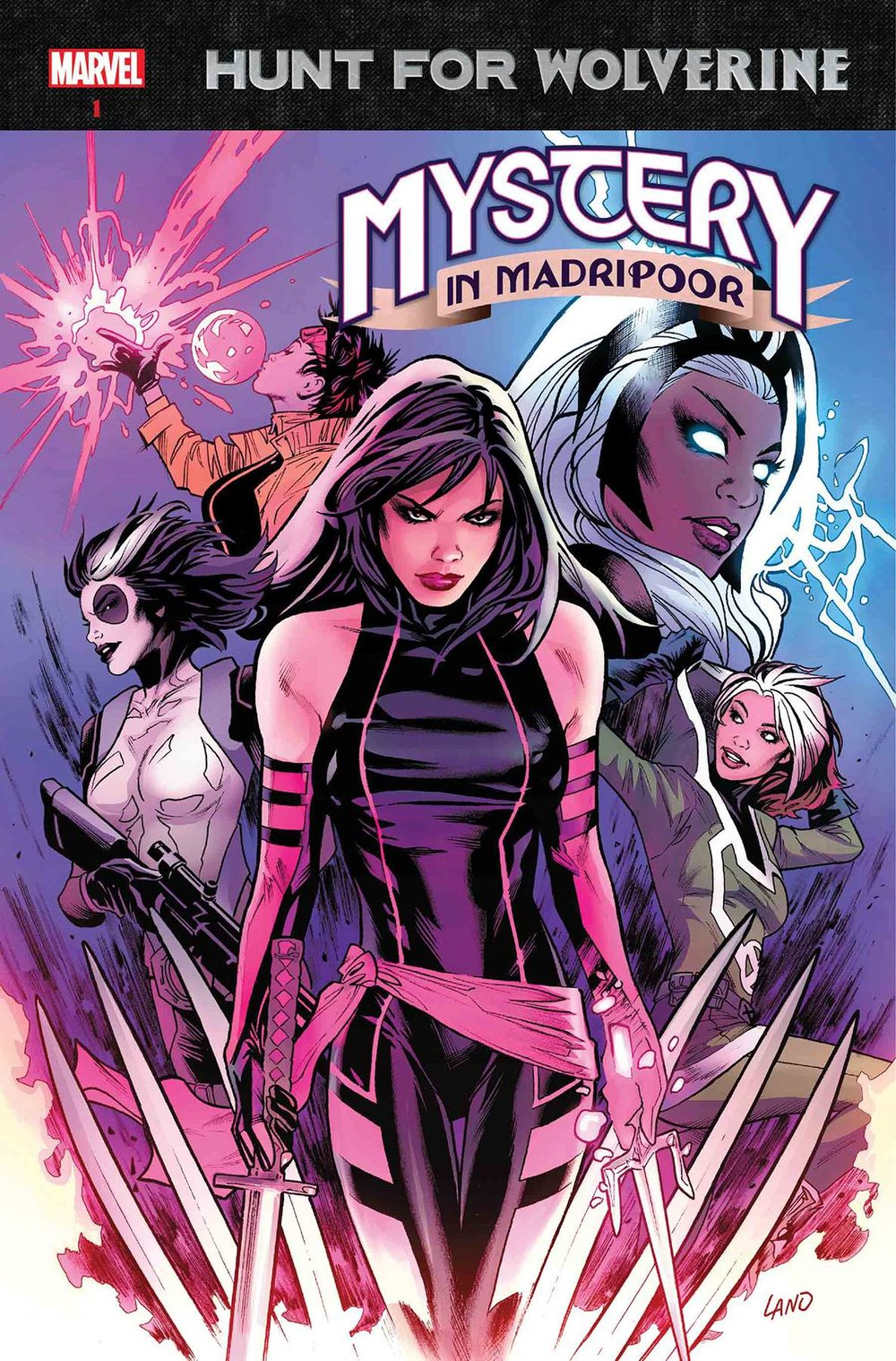 HUNT FOR WOLVERINE MYSTERY MADRIPOOR #1