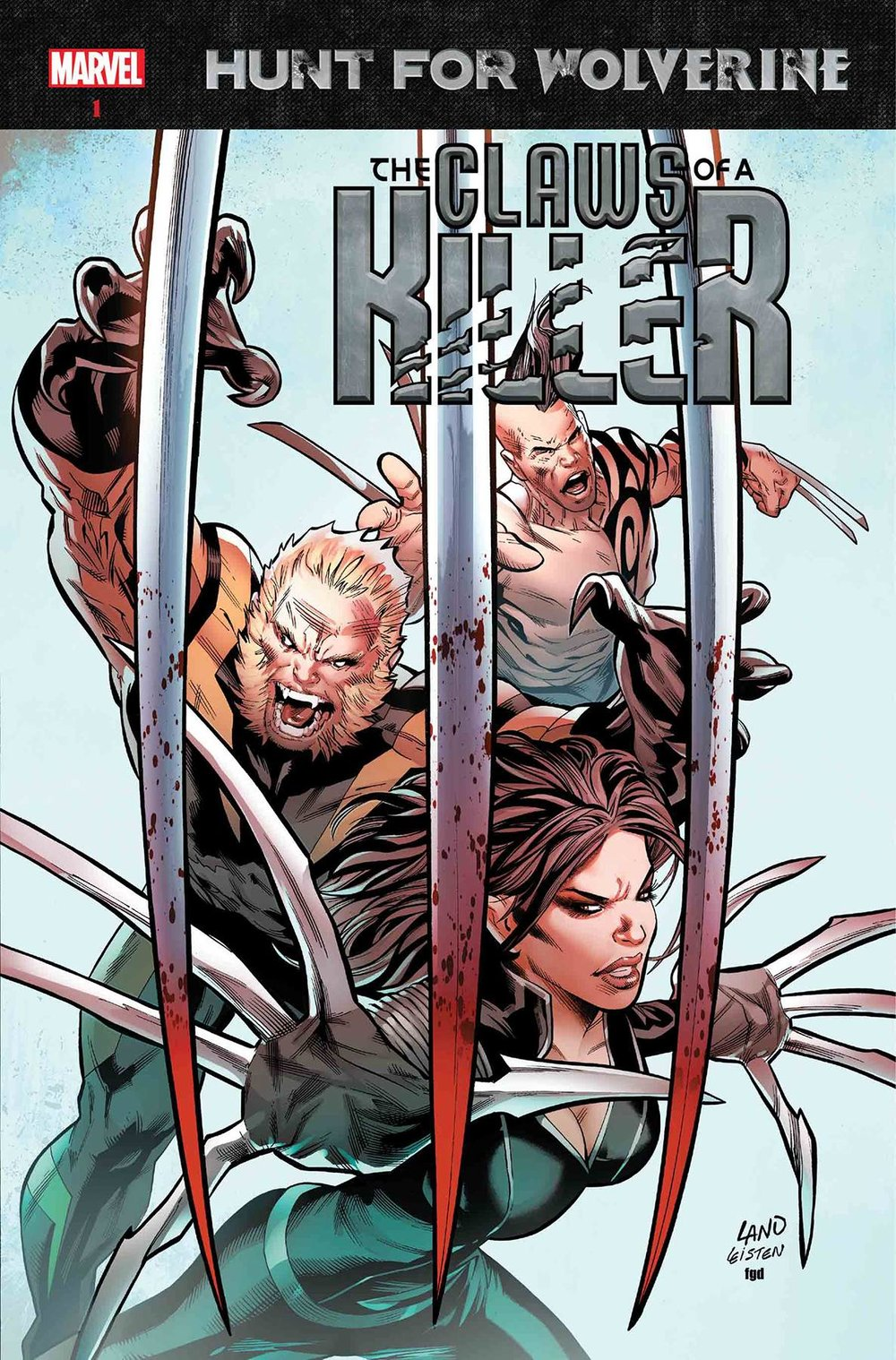 HUNT FOR WOLVERINE CLAWS OF KILLER #1