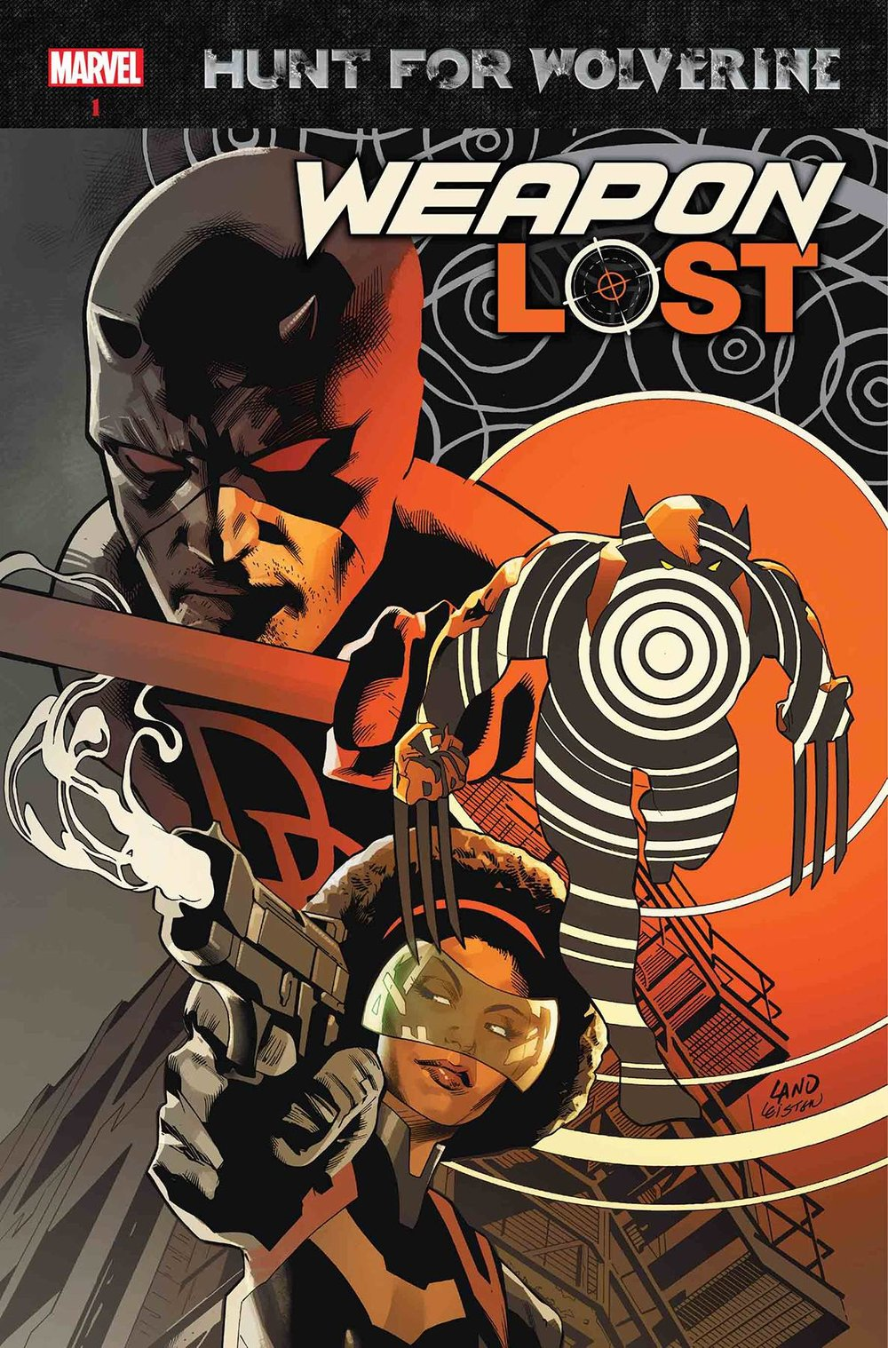 HUNT FOR WOLVERINE WEAPON LOST #1
